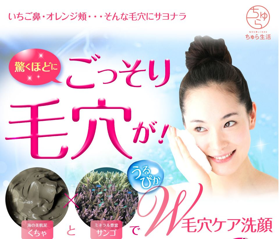 沖縄の海が育んだ、泥洗顔フォーム